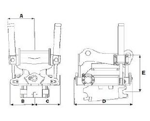 EC 15 - габаритные размеры