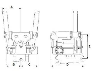 EC 10 - габаритные размеры