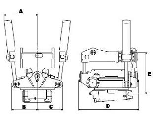 EC 30 - габаритные размеры